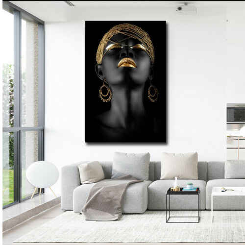 African Woman Cubism HD Art Canvas Prints Paintings Home Decoration Wall Poster