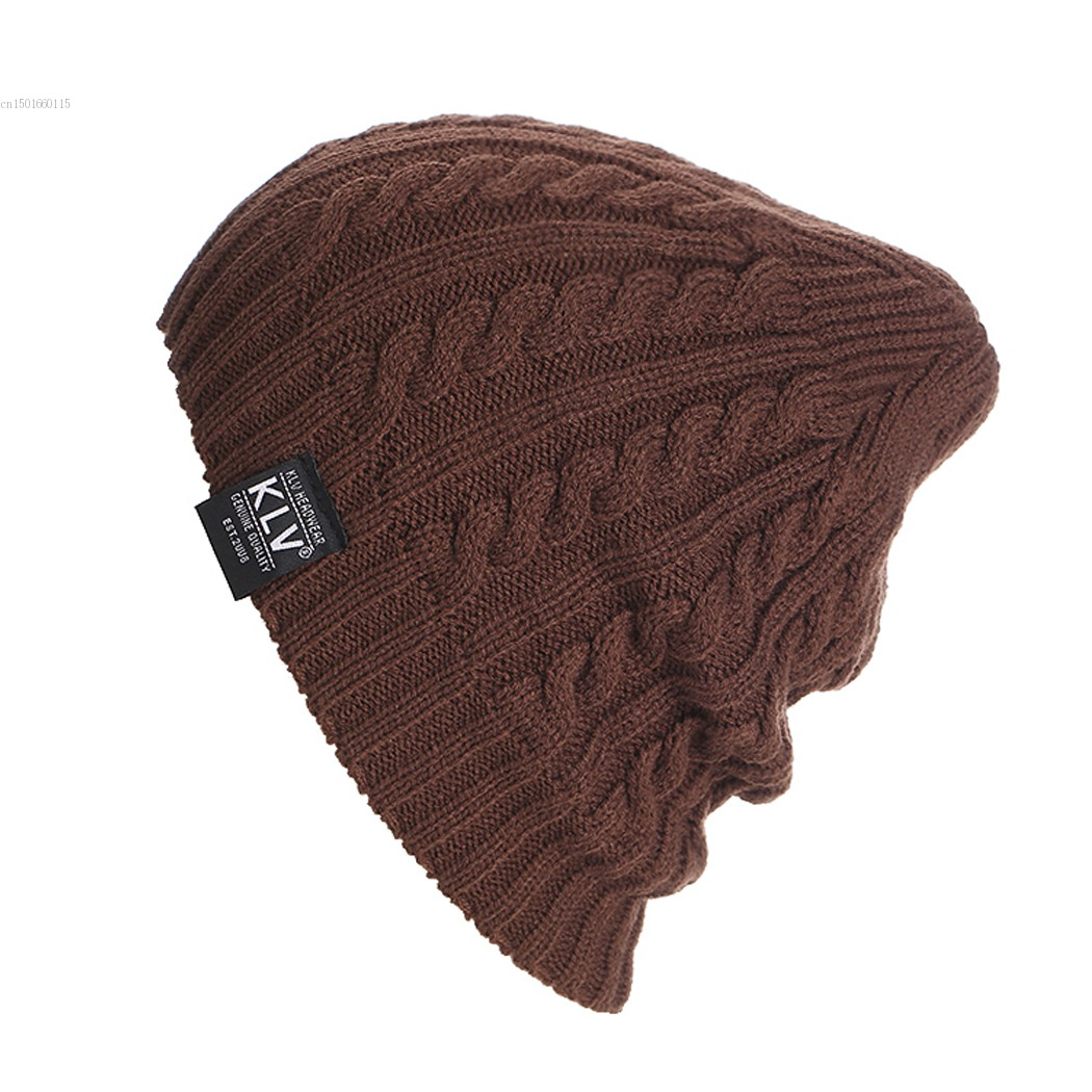 New Unisex Ribbed Weave Women Men Beanie Hat Warm Knit Hat inc new black white women s small s printed ribbed knit cropped blouse $69 054