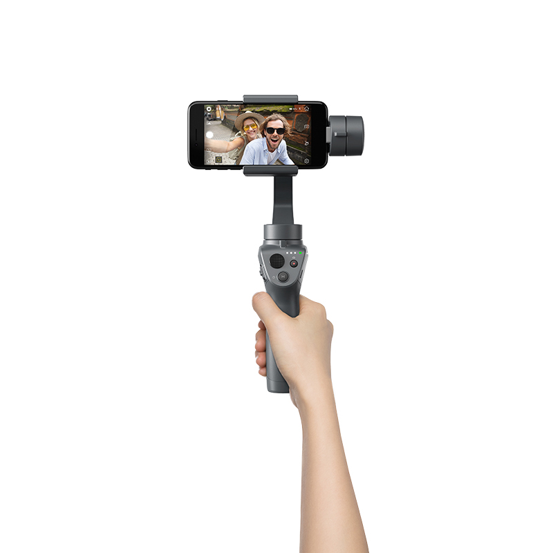 DJI Osmo Mobile 2 3-Axis Handheld Stabilizer for Smartphone 3-axis Handheld Gimbal Stent Zoom Control Panorama 4