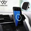 XMXCZKJ автомобильное беспроводное зарядное устройство Qi магнитный держатель для телефона Подставка для Iphone X 8 samsung Air Vent Mount Беспроводное заря...