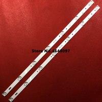 3 pcs Retroiluminação LED tira bar 598 milímetros para 32 polegada bares Para JVC HL-00320A28-0701S-04 LT-32DE75 7