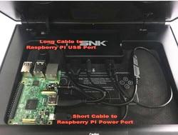 Raspberry PI 3 zestaw kabli dla NEOGEO X stacja dokująca w Części zamienne i akcesoria od Elektronika użytkowa na