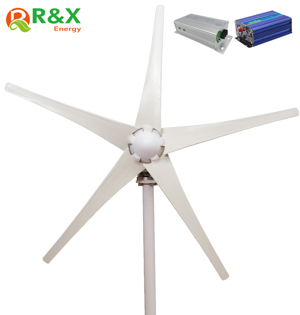 Wind power generator 400W for land and marine, 12V/24V wind turbine+wind controller+600W off grid pure sine wave inverter. new 600w on grid tie inverter 3phase ac 22 60v to ac190 240volt for wind turbine generator