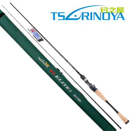 Trulinoya ELTIE II 662ML Fuji 1.98 m MH tune Casting Rods Lure rod Striped bass Catfish Culter pole fish hunter road asian pole lightning rod grips quake 2 2 m mh tune fishing rods lrtc3 762mh