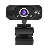 HXSJ S50 USB Web Camera 720P HD 1MP Computer Camera Webcams Built In Sound Absorbing Microphone