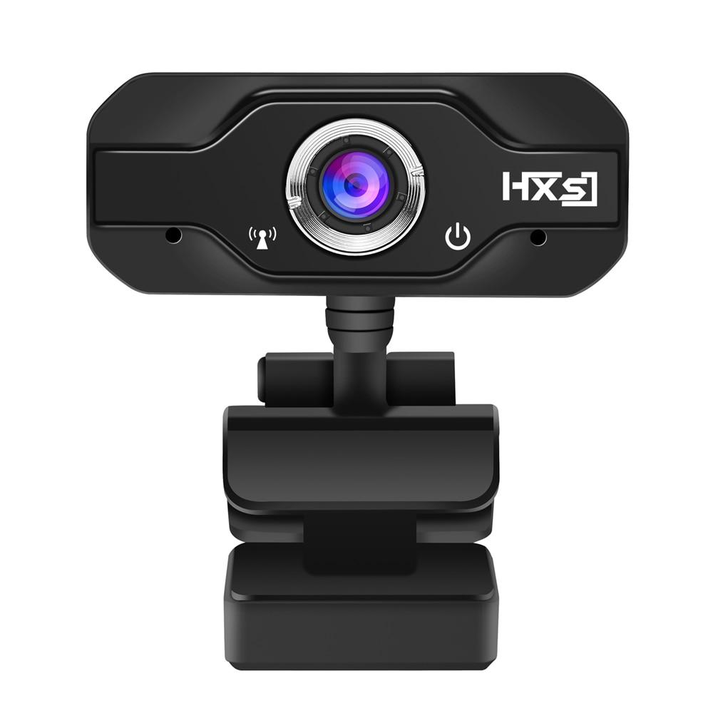 HXSJ S50 USB <font><b>Web</b></font> Camera 720P HD 1MP Computer Camera Webcams Built-in Sound-absorbing Microphone 1280 * 720 Dynamic Resolution