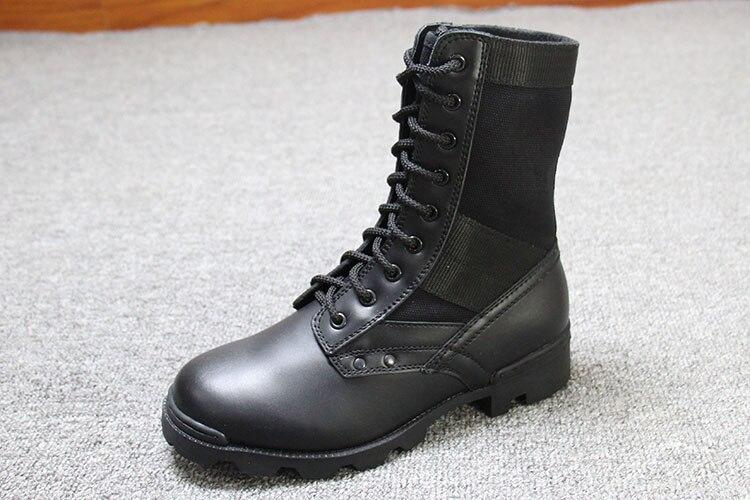 Style En Non Air up Bottes Occasionnels Chaussures slip Hommes Plein Véritable Dentelle Étanche De Cuir Pour Pvm8wO0yNn