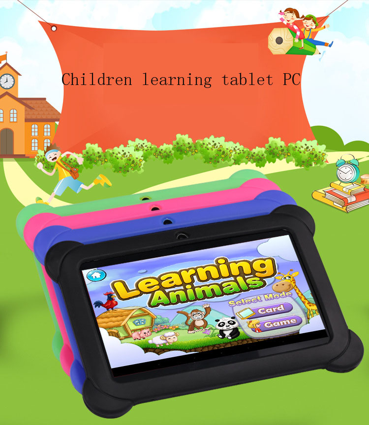 7 Inch 8GB Children Learning Tablet PC PAD Learning Machine For Kids Learn luca massaron machine learning for dummies isbn 9781119245759