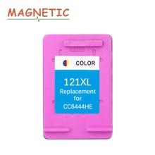 Magnetic Compatible ink cartridge for hp121 for hp 121 XL Deskjet D2563 D1663 D2663 D5563 F2530 F2545 F2568 C4683 C4783 printer