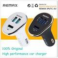100% original remax 6.3a potência do inversor carregador de carro 3 portas usb de segurança de alta qualidade de carregamento do telefone para iphone5 6 samsung s5 fy