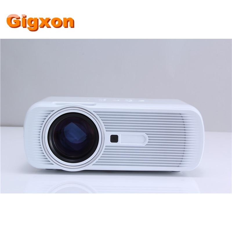 Gigxon G80 Mini Portable Digital HD 1080P LED Projector Home Cinema Theater Proyector Support PC AV