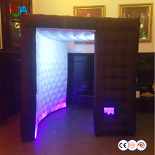 цены на Shape Irregular Portable Photo Booth LED Inflatable Photo Booth Cabin for Taking Photos Funny for Wedding Party Shipping Free  в интернет-магазинах