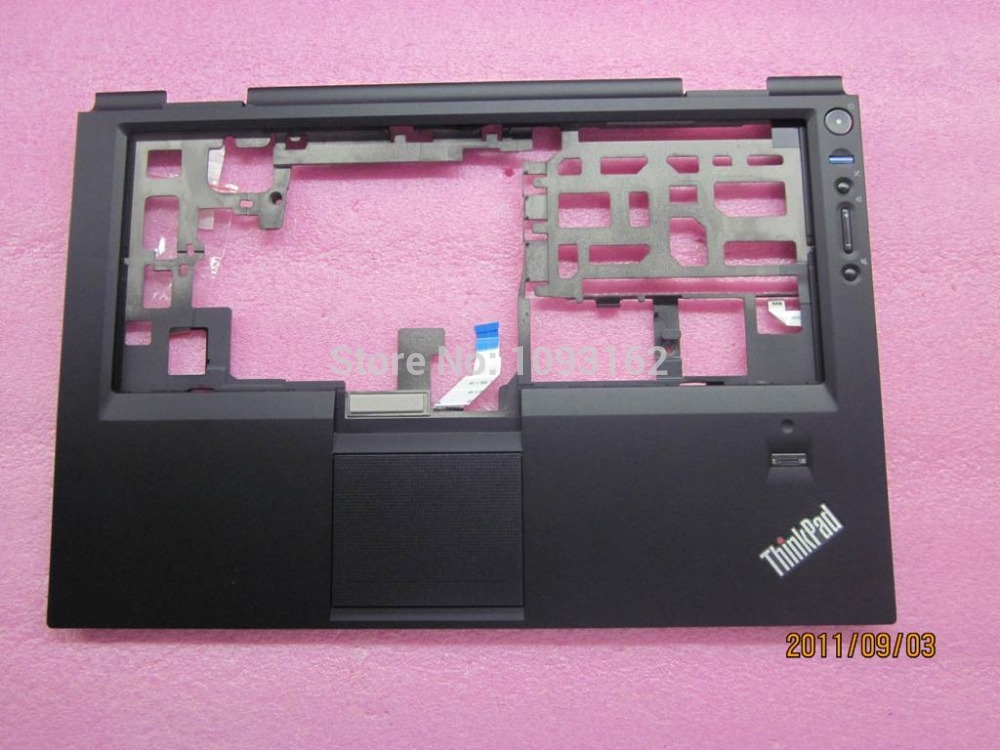 New Original Lenovo Thinkpad X1 Hybrid Palmrest Cover Keyboard Bezel With Touchpad and Fingerprint 04W3349 new original for lenovo thinkpad l530 palmrest cover with touchpad fingerprint 15 6 keyboard bezel upper case 04x4617 04w3635