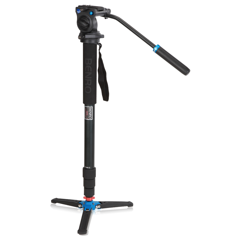 Free Shipping Benro A38TDS2 Professional Monopod For Photo Video / Especial For Bird Watching / Monopod & Head for DSLR Camera