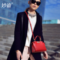 A2010 Famous brands saddle shoulderbags ladies handbag women Genuine leather handbag sac 2016 women messenger bags