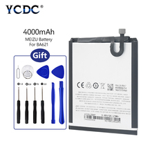 2019 Original For Meizu M5 Note 3.85V 4000mAh With Tools lithium li-po battery Replacement BA621 BA-621 Battery BA 621
