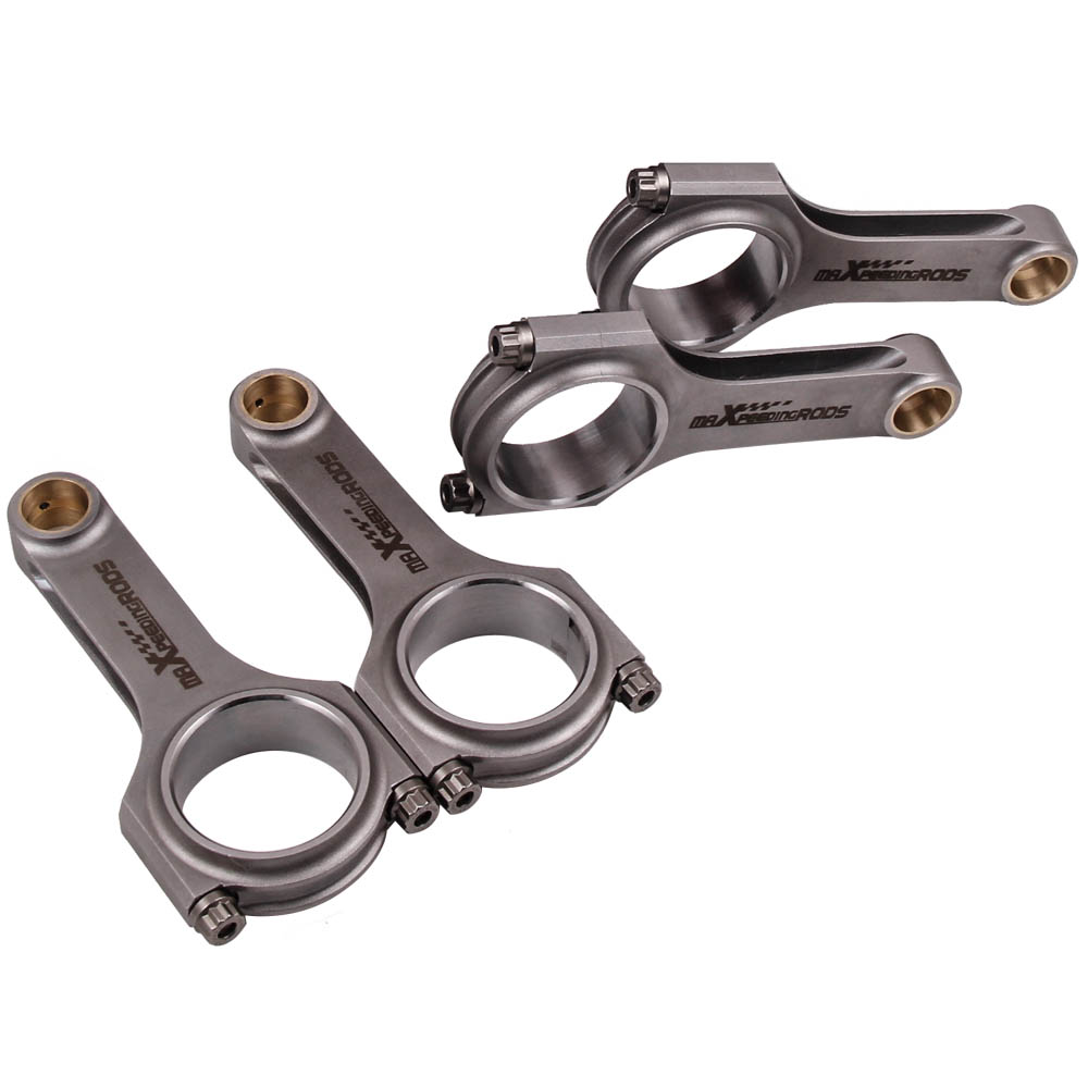 Connecting Rod For GM Opel Vauxhall Corsa 1.6 1.8 C16XE X16XE Forged Conrod 129.75mm Connect Rod ARP Bolts Pleuel Bielle