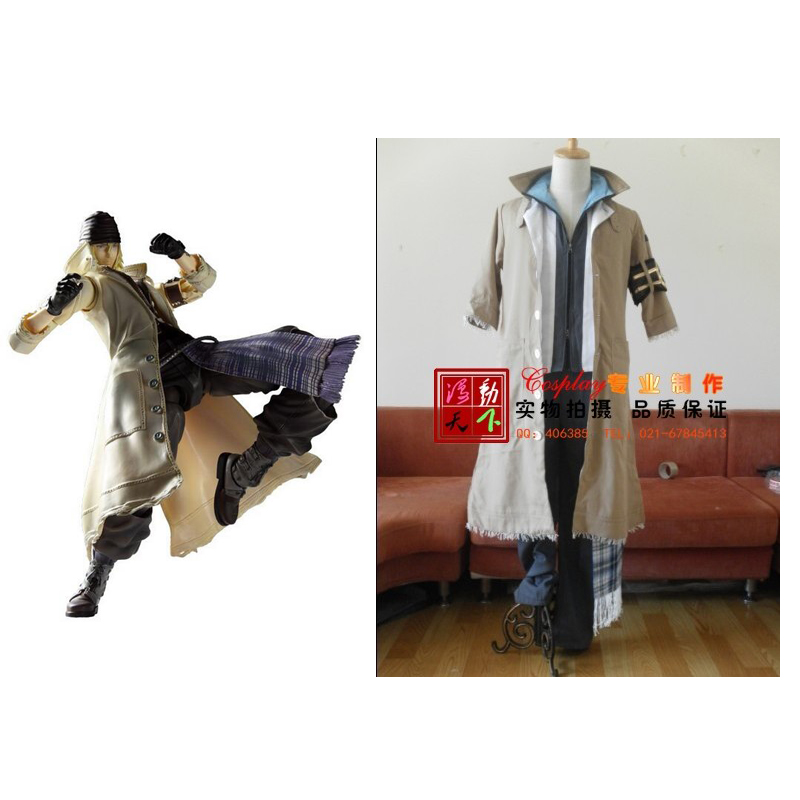 2016 Final Fantasy Snow Villiers Cosplay Costume Daily Used Game Anime Video Game Sci-Fi Fancy Make-up Halloween Costume