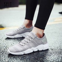 SFIT 2019 NEW Torridity Men Vulcanized Shoes Plus Size 44 Breathable Casual Sports Male Sneakers Mesh Trainers -up Flat Shoes(China)