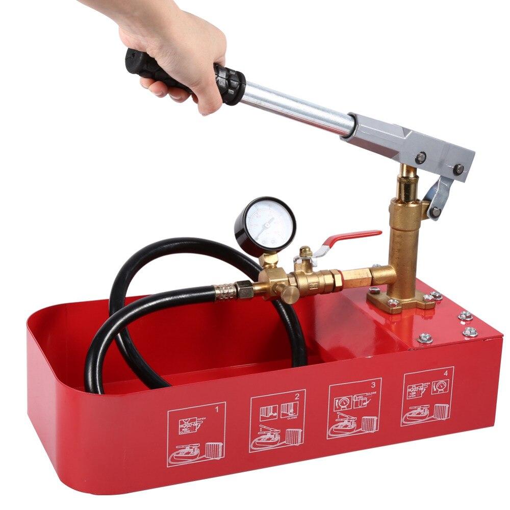 1 Pcs Professionelle Hydro-statische Druck Test Pumpe Hand Druck Prüfung Pumpe 5mpa/50 Kg Mit Schlauch Für Testen Wasser Rohr Leckage Online Shop Sanitär