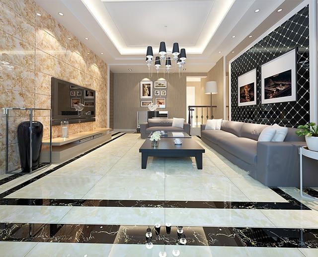 ceramic tiles for living room floors value city furniture sectional fully glazed tile 800 foshan floor white metallic glaze imitation indoor