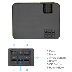 Image 3 - Новейший HQ3 WiFi проектор видео проектор Everycom HQ2 3000 Lumi HD 1280*720P светодиодный проектор для домашнего кинотеатра