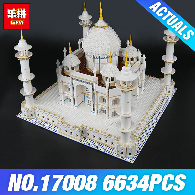 DHL LEPIN 17001 Tai Mahal 17008 Model 10189 Toys Building Blocks Brick Toys for Children Educational DIY Funny Christmas Gifts