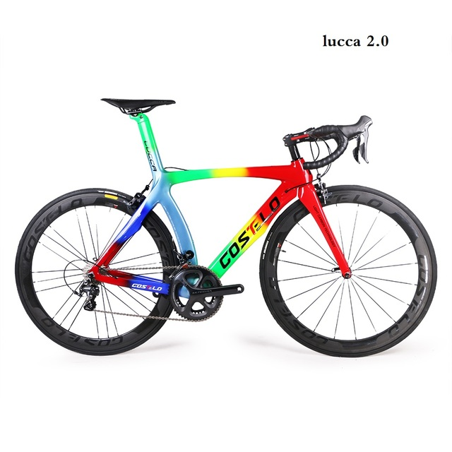 1c324336433 2018 COSTELO SK carbon road bike complete bicycle carbon BICICLETTA bicyce  shimano groupset wheel RB1000,BOND S,M,L