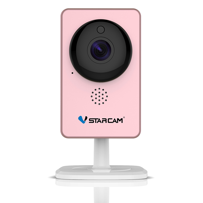 WANSCAM Wi-Fi мини Камера панорамный инфракрасный Ночное видение Беспроводной движения сигнализации Видео IP контроля Камера C60S розовый