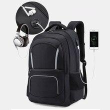 Travel Backpack For Men Women Male Female Outdoor 17 15.6 inch Laptop Mens Bag Mochila Rucksack Headphone USB Charging