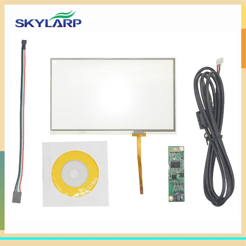 skylarpu New 7 Inch 165mm*100mm 4 Wire Universal Touch Screen GPS AA292A 164.9*100mm With USB Controller digitizer panel glass сенсорная панель other 7 4 165x100mm 165 100 165 100mm