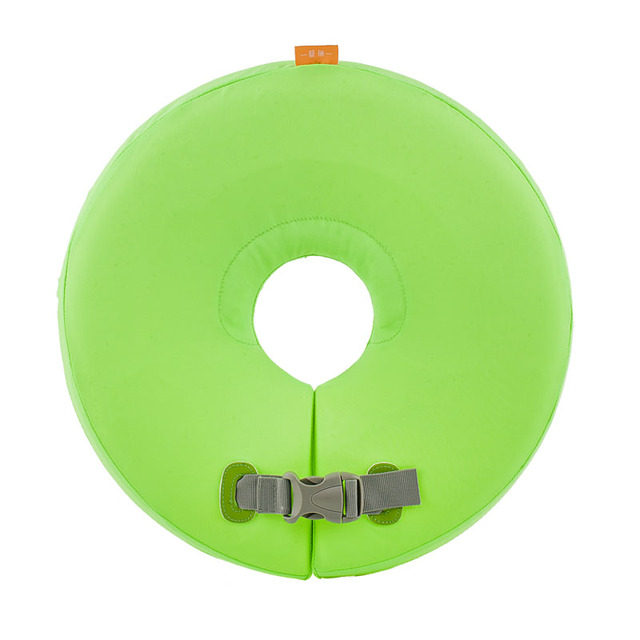 Mambobaby S M anel da nadada Do Pescoço de Alta Qualidade da Segurança Do Bebê não há necessidade de brinquedo Em Torno Do Pescoço Natação Anel Piscina Inflável Flutuante presente