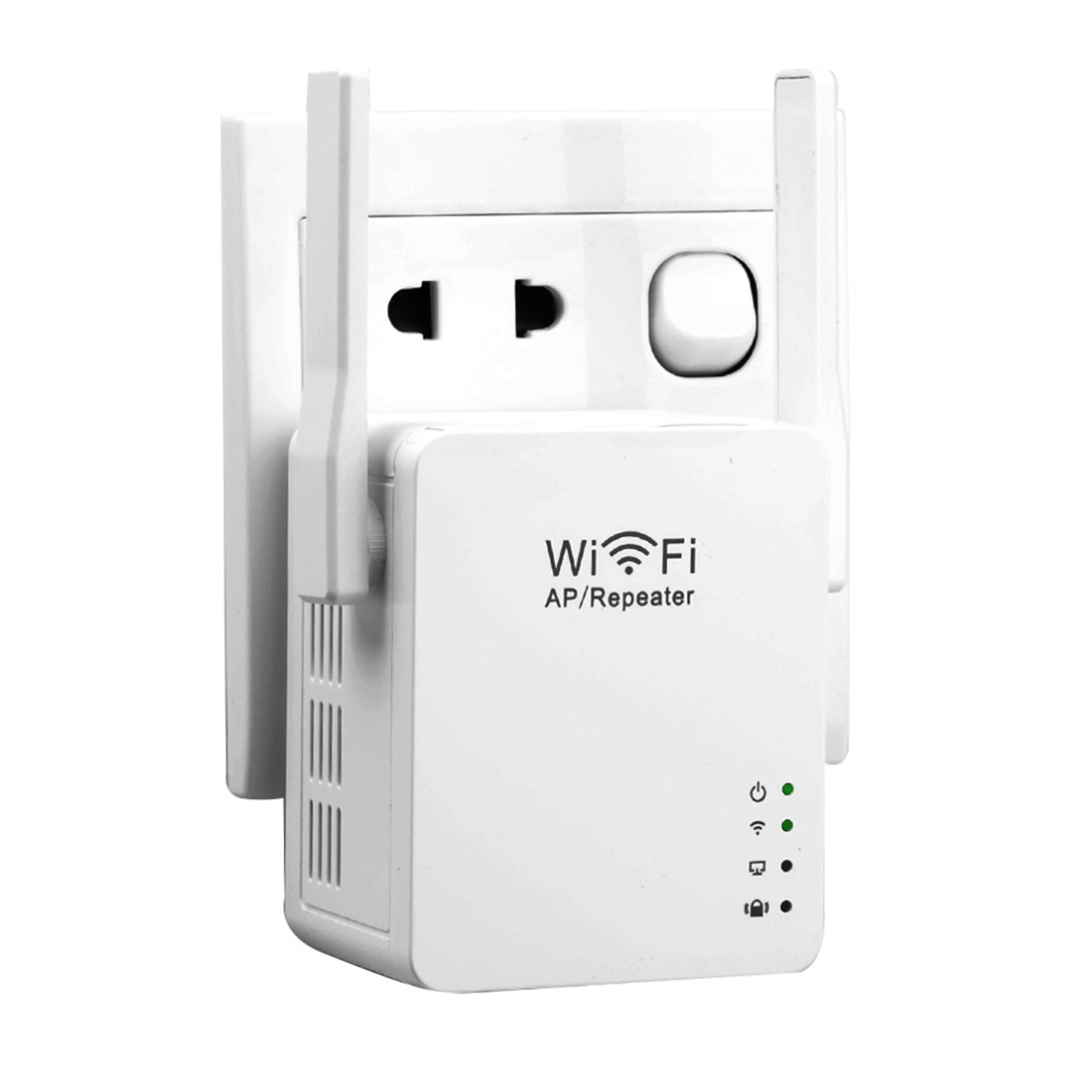 NOYOKERE New USB WiFi Repeater WiFi Range Extender with Micro USB2.0 Port 5V/2A 802.11N Booster Signal and AP Mode EU/US Plug