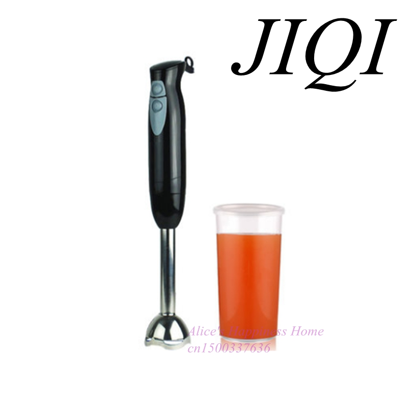 JIQI stirring rod holding food baby food supplement meat household multifunctional electric cooking machine bear 220 v hand held electric blender multifunctional household grinding meat mincing juicer machine