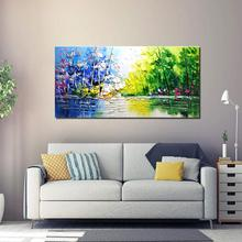 free shipping 100% handmade high quality  animal oil painting on canvas