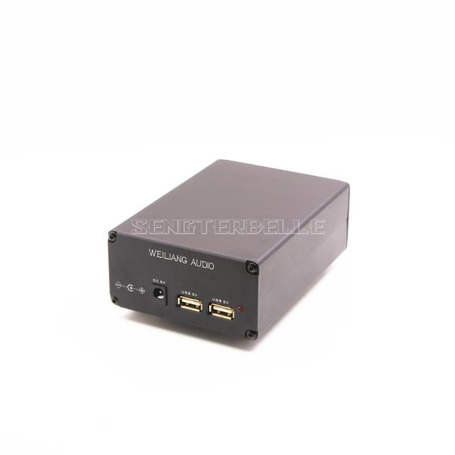 New 15VA 5V USB DC Port Dual Output HiFi Linear Power Supply DC Stabilized PSU