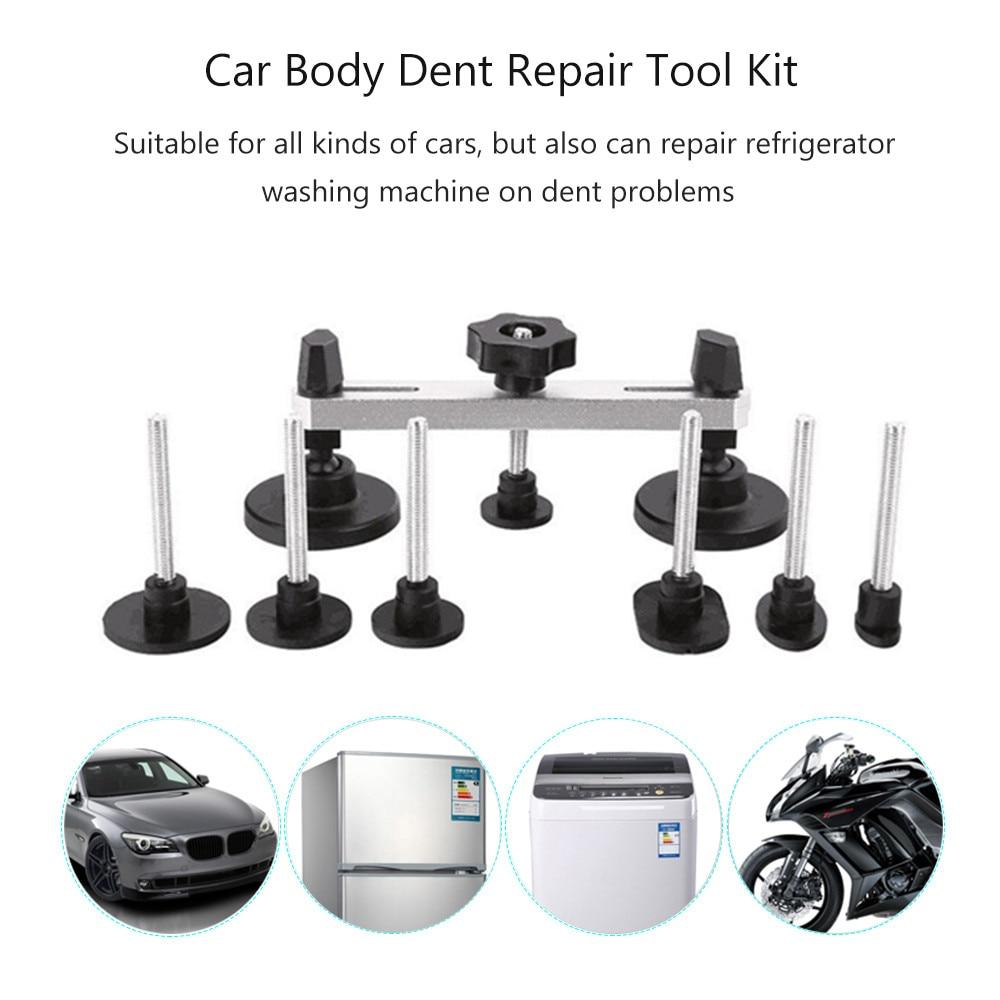 Купить с кэшбэком Tools Paintless Dent Repair Kit Car Dent Repair Dent Puller Removal Tools Pulling bridge