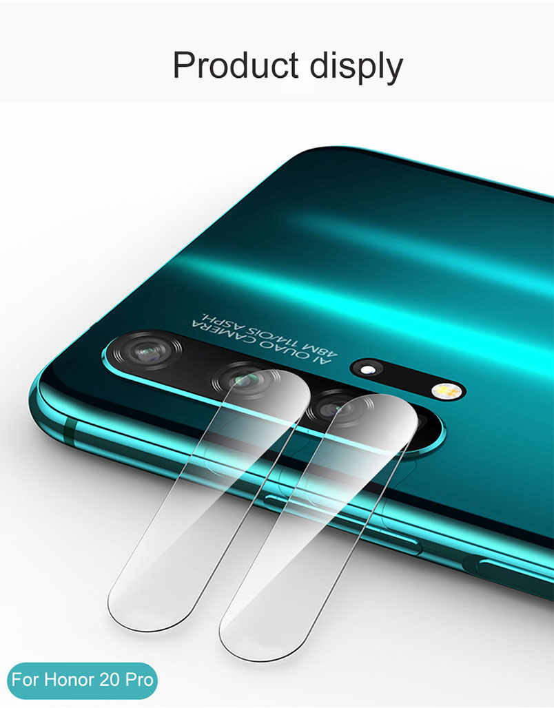 for Huawei P Smart Plus P20 Mate 20 lite Y5 2019 Enjoy 9e 9s Y6 Pro 2018 Back Camera Lens Protector Film Tempered Glass HD Case