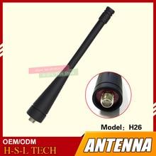 wanhua wanhua htd портативные рации гражданские коммерческие Original Walkie Talkie Rubber Antenna 400-470Mhz SMA-K Interface Two Way Radio Antenna For Wanhua H26A H26B H26C Fadacn F1 V8