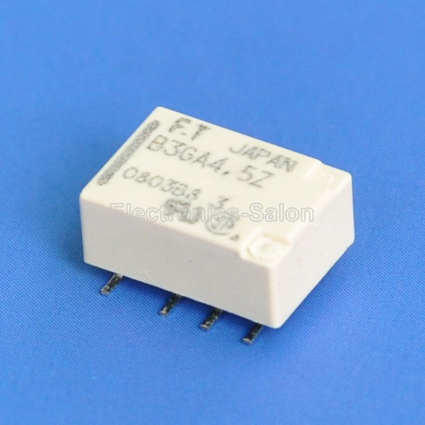 ( 20 Pcs/lot ) High Frequency Ultra Miniature SMD 4.5V DPDT Relay, FUJITSU FTR-B3 GA4.5Z