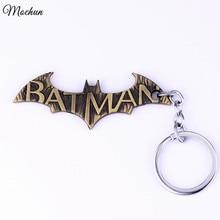 MQCHUN Super Heros Key Chains 3 Styles Batman KeyChains Bat Pendant Car Bag Key Rings The Avengers Marvels Key Holder Mans Gift