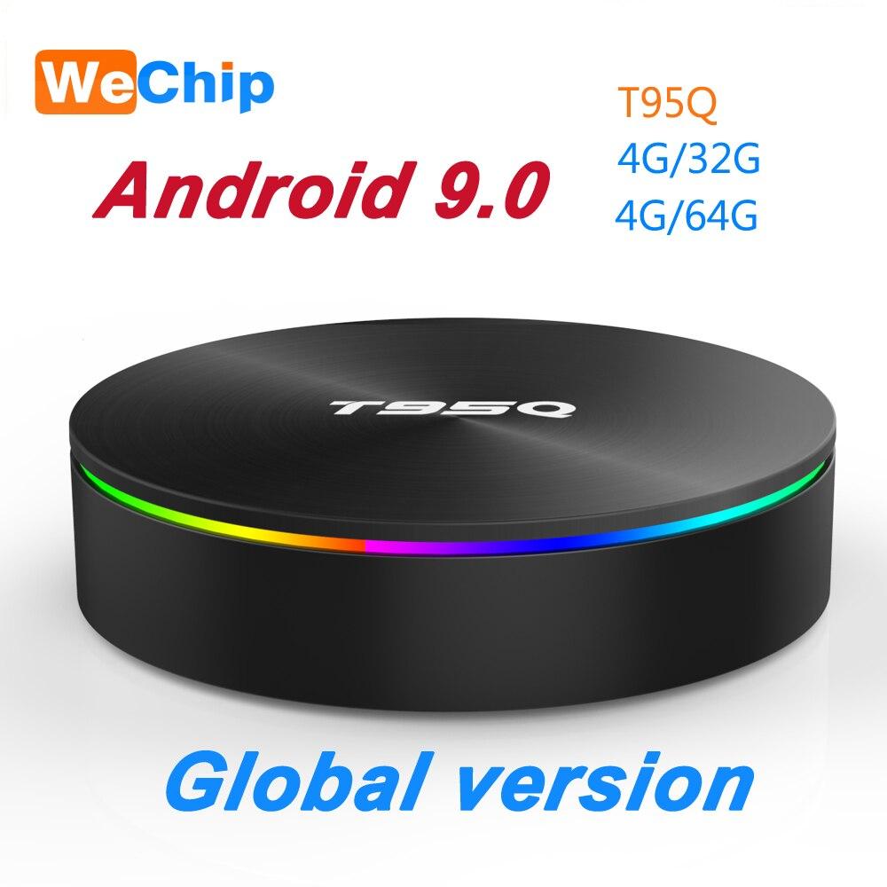 T95Q 4G 64G Android 9 0 LPDDR3 Amlogic S905X2 TV BOX Quad Core Dual Wifi BT4