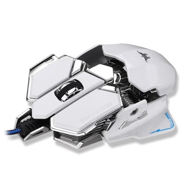 Souris de gamer 4800 DPI Optique USB Filaire Gaming Mouse Souris Pour Windows Mac OS PC A8