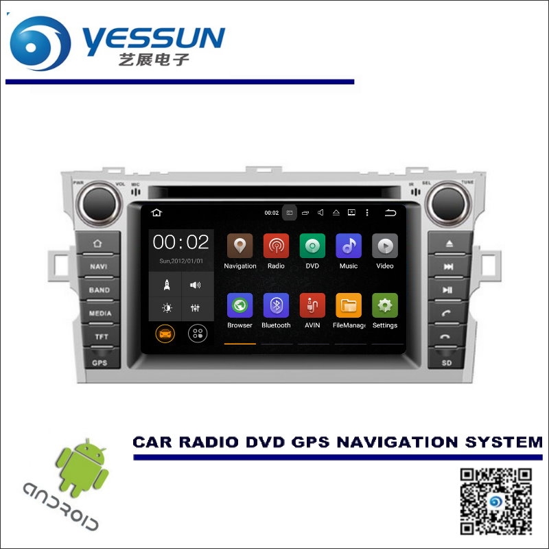 For Toyota Verso / E'Z 2009~2016 CD DVD GPS Player Navi Radio Stereo HD Screen Car Multimedia Navigation Wince / Android System liislee for toyota 4runner hilux tundra tacoma t100 car radio cd dvd player gps nav navi navigation android s160 system
