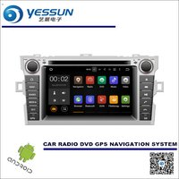 For Toyota Verso / E'Z 2009~2016 CD DVD GPS Player Navi Radio Stereo HD Screen Car Multimedia Navigation Wince / Android System