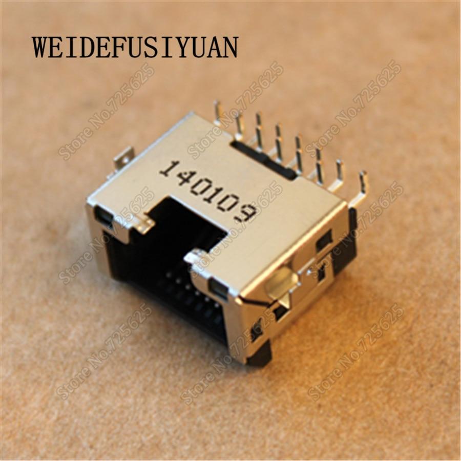 New Laptop Ethernet LAN Port for Lenovo E455 E445 E550 RJ45 Jack Network Port socket