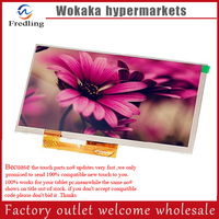 New 7 Inch Replacement LCD Display Screen For Oysters Pc I T72hm 3G Tablet PC Free
