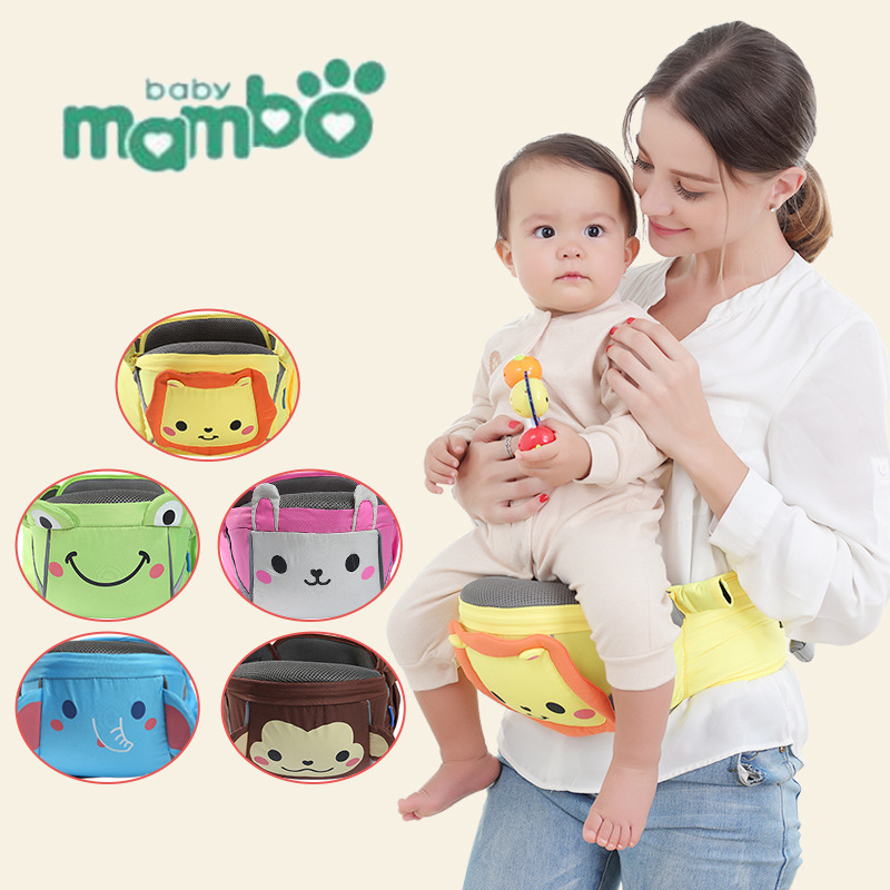 Baby Carrier For Newborn Waist Stool Kangaroo Infant Hip Seat Baby Sling Equipped With For Children Cartoon Multi BreathableBaby Carrier For Newborn Waist Stool Kangaroo Infant Hip Seat Baby Sling Equipped With For Children Cartoon Multi Breathable