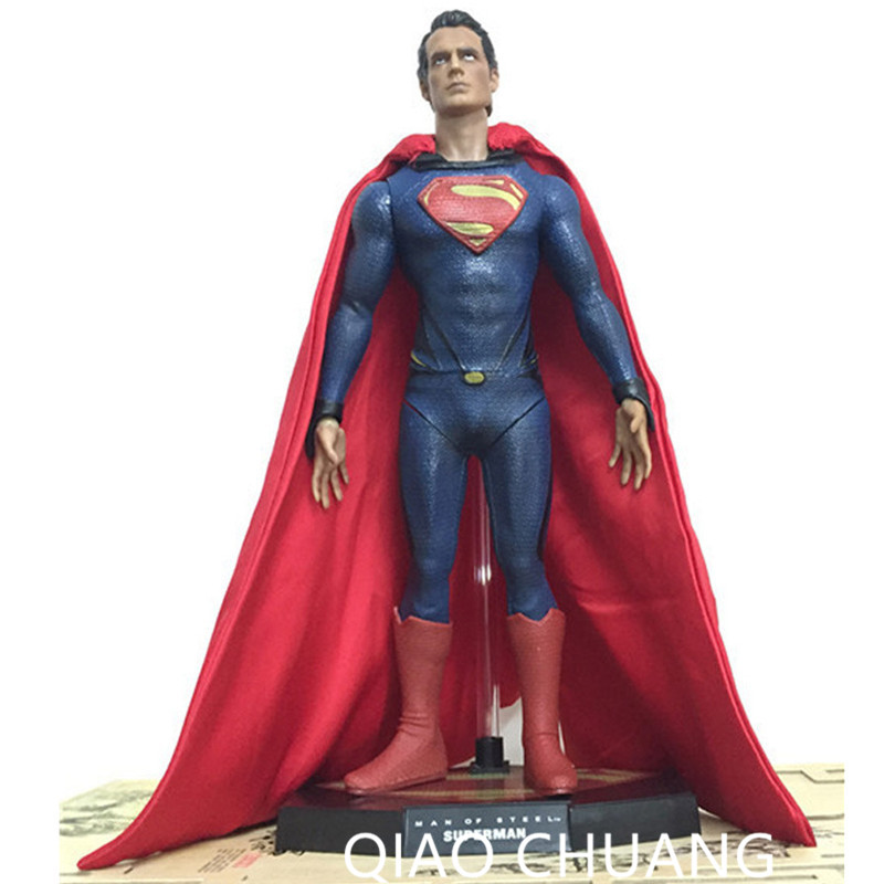 Batman v Superman: Dawn of Justice Superhero Henry Cavill Superman PVC Action Figure Collectible Model Toy G31 shf figuarts superman in justice ver pvc action figure collectible model toy