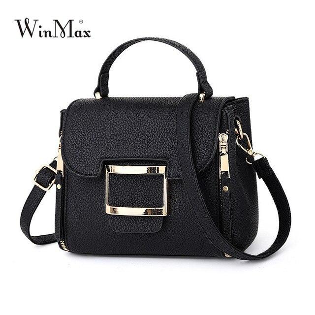 2018 Winmax Ladies Spring Summer Top Handle Bags Female Fashion Shoulder Bags Women Beautiful Crossbody Shoulder Bags for Girls